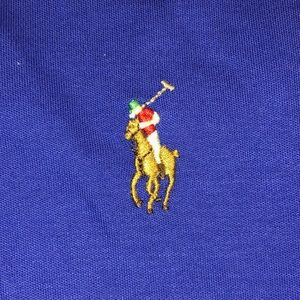 Polo Ralph Lauren Shirt Blue/Natural